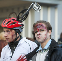"""Bėgime <b>""""ZomBėk""""</b> – šimtai persirengusių zombių ir <b>""""Anties""""</b> išzombinimo apeigos"""