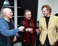 Iš kairės: Sigitas Račkys, Jonas Braškys ir Saulius Balandis
