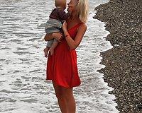 Eglė Jackaitė su mažyliu lepinosi Turkijos saule