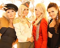"Grupė ""Pop Ladies"": Natalija Bunkė, Oksana Pikul, Liepa Mondeikaitė ir Katažina Nemycko"