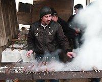 Skaniausia mūsų kada ragauta mėsa - azerbaidžianietiški šašlykai