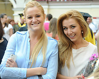 Neringa Šiaudikytė ir  Ingrida Kolytė