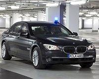 Šarvuotas 7 serijos BMW