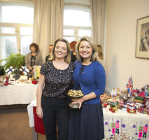"""Kalėdų labdaros mugės ambasadorė Beata Nicholson: """"Ši mugė skelbs švenčių pradžią"""""""