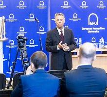 Baltarusiško universiteto Senatas sukilo prieš vadovybę – reikalauja skubių atleidimų