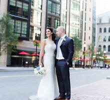 Netikėta meilė: Bostono maratone per sprogimą nukentėjęs vyras vedė jį slaugiusią seselę