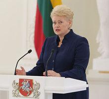 D.Grybauskaitė: matant atvirą agresiją, svarbus kiekvieno kovojančio už laisvę indėlis