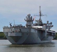 """JAV vadovaujamose pratybose Baltijos jūroje – nepavojingi """"kontaktai"""" su rusais"""