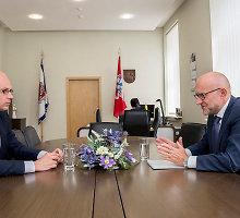 """VRM siūlosi apmokyti """"ORLEN Lietuvą"""", kaip saugoti Būtingės terminalą"""