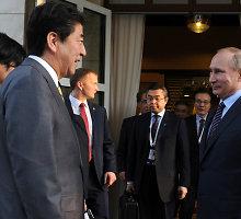 Vladimiras Putinas gruodį lankysis Japonijoje