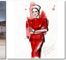 """Astą Valentaitę nupiešusi mados iliustratorė Anya Dee: """"Ji yra įkvėpimo šaltinis"""""""