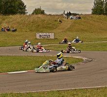 Per dvi dienas įvyko du Lietuvos kartingo čempionato etapai
