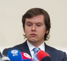 Lietuvos banko Priežiūros tarnybos direktorius Vytautas Valvonis: pokalbiai apie kyšius yra klastotė