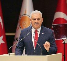 Turkijos premjeras: operacija Sirijoje nėra nukreipta prieš kurdus