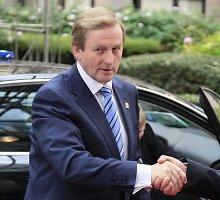 Airijoje susitarta suformuoti mažumos vyriausybę