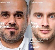 Ar latviai bėgtų? Aistros dėl JT kampanijos apie pabėgėlius neslopsta, o nuomonę turi ir lietuviai
