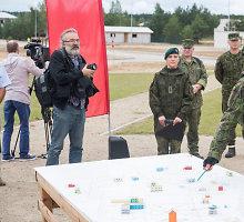 """Pabradėje atidarytas vienintelis Baltijos šalyse treniruočių infrastruktūros kompleksas """"Mūšis mieste"""""""