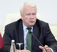 Latvijos ministras neigia V.Baltraitienės žodžius ir tikina apie verslininkus nežinojęs