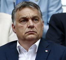 Vengrijos premjeras: Europai geriau Donaldas Trumpas, o ne Hillary Clinton