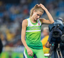 """Su ašaromis olimpines žaidynes baigusi Airinė Palšytė neieškojo pasiteisinimų: """"Reikia laiko"""""""
