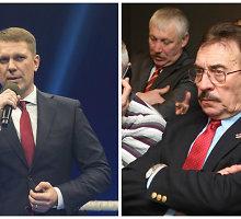Opozicijos kirčių sulaukęs bokso federacijos prezidentas D.Šaluga smogė atgal