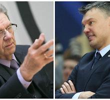 V.Garastas neskuba vertinti Š.Jasikevičiaus darbo, bet triuškinančių pralaimėjimų norėtų mažiau