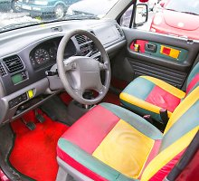 Trispalvis Liepos automobilis: gražus kaip Lietuva, ryškus kaip sapnai