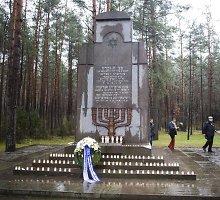 Lietuvos žydai tikisi vietos gyventojų aktyvesnio dalyvavimo Holokausto minėjimuose
