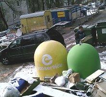 """Vilniaus savivaldybė """"Ecoservice"""" gąsdinimus, kad neveš šiukšlių, pavadino spaudimu derybose dėl tarifų"""
