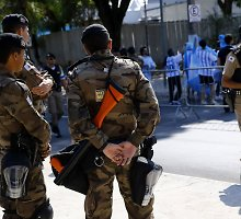 Brazilijos policija sulaikė 12 asmenų, kurie planavo teroro ataką olimpiados metu