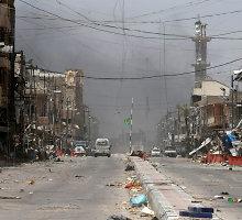 Irake aviacijos smūgiais per vieną dieną nukauta net 250 džihadistų kovotojų