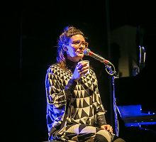 Islandiškos muzikos gūsis: lyriškoji Soley Vilniuje surengė svajingą koncertą