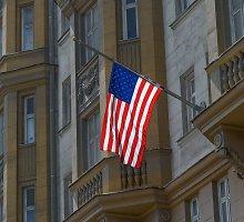 Rusijos saugumietis sumušė JAV diplomatą prie įėjimo į Amerikos ambasadą