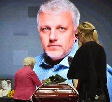 Baltarusijoje palaidotas Kijeve nužudytas žurnalistas Pavelas Šeremetas