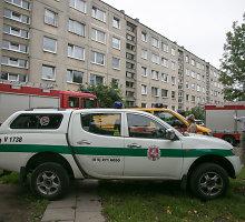 Butą susprogdinti grasinęs vilnietis sukėlė chaosą: padurta moteris, evakuota 13 žmonių
