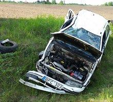 Savaitgalį Lietuvos keliuose sužeisti 43 žmonės, tarp jų – 8 nepilnamečiai
