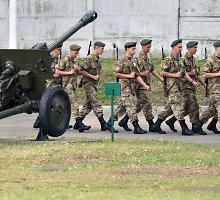 Ukraina pradėjo bendras karines pratybas su NATO