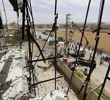 Sirijoje įsigaliojo laikinos paliaubos