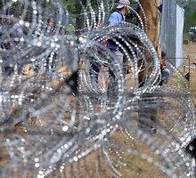 Viktoras Orbanas: Vengrija statys antrą tvoros liniją prie pietinės sienos