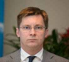 Sveikatos apsaugos ministras Juras Požela – Santariškėse