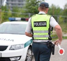 """Vilniaus policija vienoje gatvėje sulaikė keturis """"geltonų miltelių"""" platintojus"""