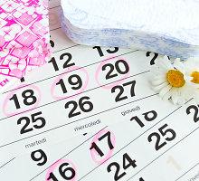 Menstruacijų ciklo sutrikimai: kada verta sunerimti? Konsultuoja ginekologė