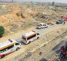 Sirijos sukilimo simboliu tapusios Darajos evakuacija žymi svarbią režimo pergalę
