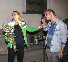 """Sutiktuvių Kaune laukianti Rūta Meilutytė sužavėta: """"Nuostabu, kai mane šitiek žmonių palaiko"""""""