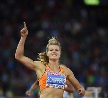 Septynkovę metusi olandė Dafne Schippers – greičiausia Europos sprinterė istorijoje?
