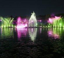 Jūros šventėje – didžiausias Lietuvoje muzikinių fontanų šou