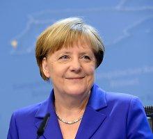 Angela Merkel: nebūtina keisti Europos Sąjungos sutarčių
