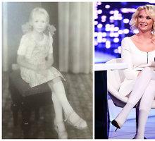 Vaikystės nuotrauka pasidalijusi Natalija Bunkė mano, kad sūnus Kristupas – jos mažos kopija