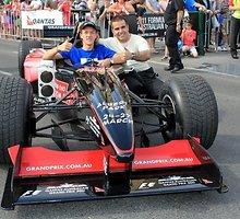 "Melburno ""Grand Prix"" belaukiant: pažintis su F-1 komanda ir bolidu"