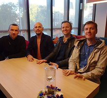 """Latvių grupė """"Brainstorm"""": """"Slovėnijoje, rungtynėse su Lietuva, tikimės trečios pergalės"""""""